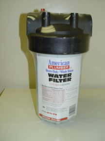 Whole-House Water Filter (less cartridge)